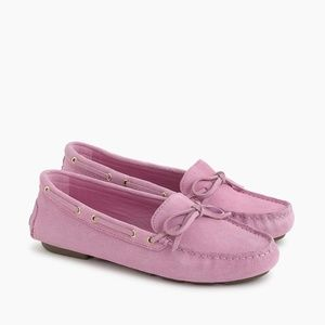 J. Crew Women's NIB Driving Moccasins in Suede